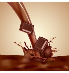 Choco milk vector