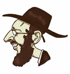 jew vector image