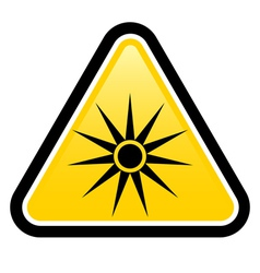 Safety signs warning triangle sign vector image