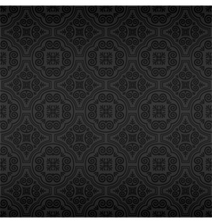 Seamless Ornamental Wallpaper vector image vector image