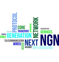 Word cloud ngn vector
