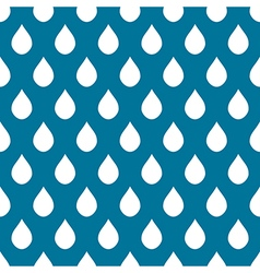 Blue white water drops background vector