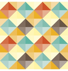abstract geometric pattern retro vector image