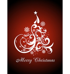Christmas beautiful artistic background vector