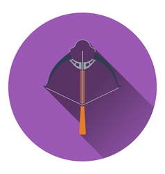 Icon of crossbow vector