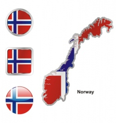 norway vector image vector image