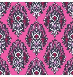 Royal seamless pattern damask vector