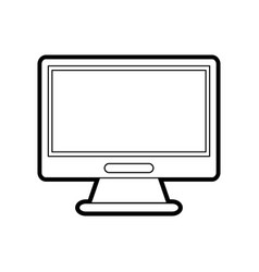 Screen console play vector