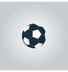 Football ball - soccer vector