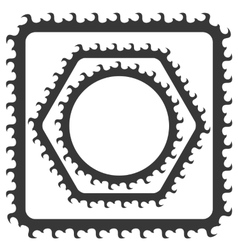 Grey Frames vector image