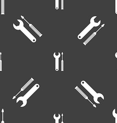 Repair tool sign icon service symbol screwdriver vector
