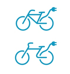 Bicycle icon vector