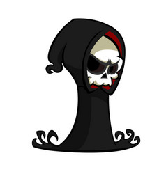 cartoon of grim reaper vector image