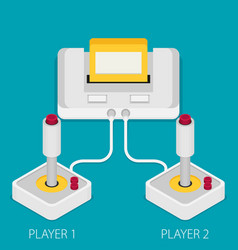 Flat design concept of game environment tools and vector