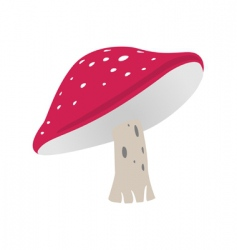 Fly agaric vector