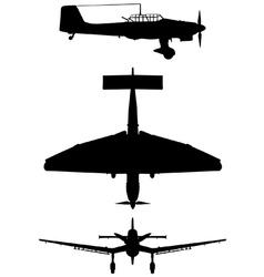 Junkers Ju 87 B2 Stuka vector image