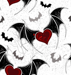 Seamless on Halloween vector image