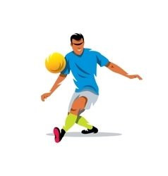 Soccer player Cartoon vector image