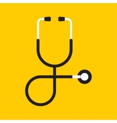Stethoscope health care vector
