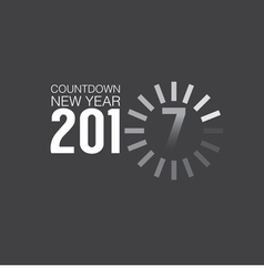 2017 countdown loading vector