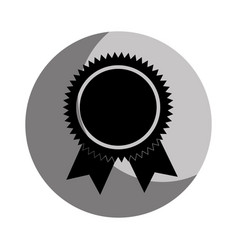 medal award isolated icon vector image vector image