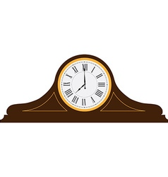 Table clock vector image vector image
