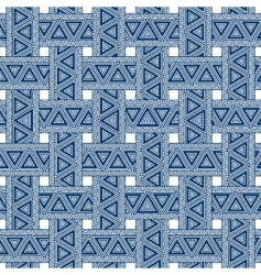 weave pattern vector image vector image