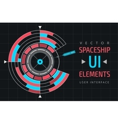 Ui infographic interface web elements vector