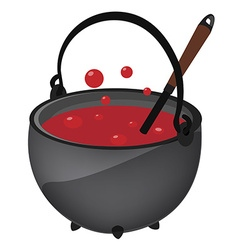 Magic kettle vector