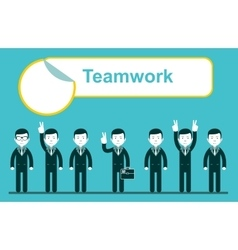 Team work design eps10 vector