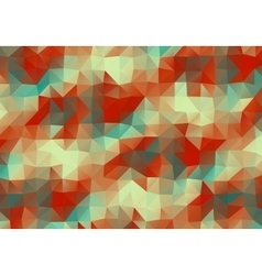 Vintage multicolor abstract triangle background vector