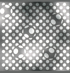 abstract balls background vector image vector image