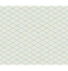 Isometric seamless retro background vector