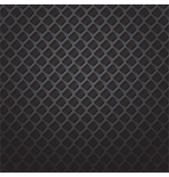 square black metal grill vector image