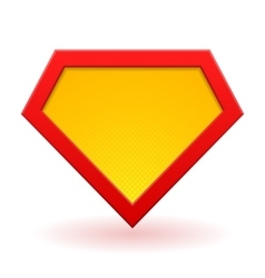 Superhero logo template vector