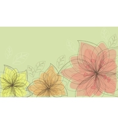 Vertical and horizontal background vector image vector image