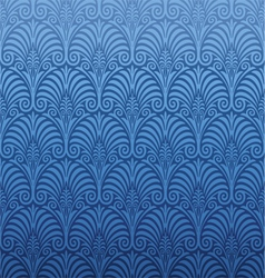 Seamless art nouveau pattern vector