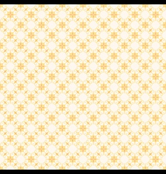Retro yellow flora pattern background for wrapper vector