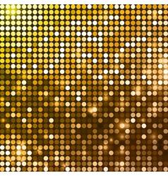 Abstract metallic disco background vector image vector image