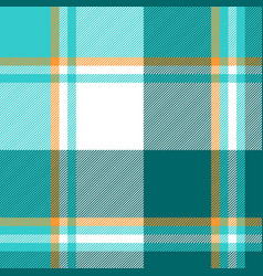 Blue check fabric textile seamless pattern vector