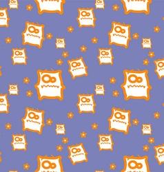 Cartoon monster texture vector image vector image