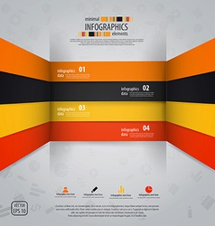 line infographics 2 vector image