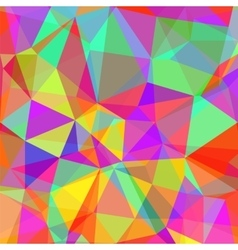 Abstract colorful polygonal background vector