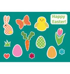 Easterstick vector image