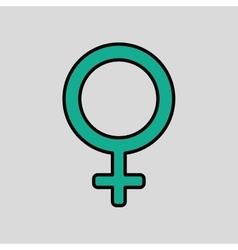 Gender icon design vector