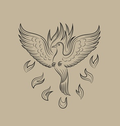 Holyspirit fire icon vector
