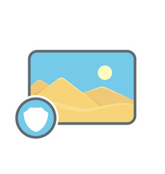 Image photo photography picture protect icon vector