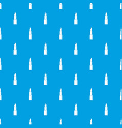 Lipstick pattern seamless blue vector