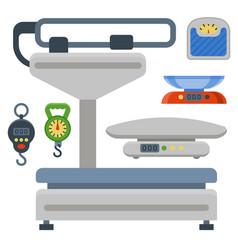 Weight measurement instrumentation balance tools vector