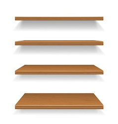 shelves 01 vector image
